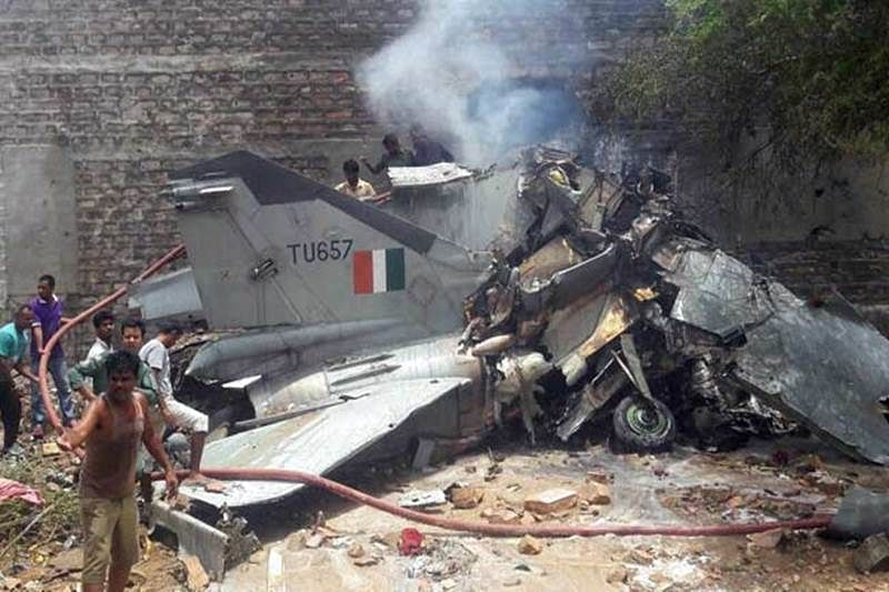 Mig-21 crashes in Rajasthan