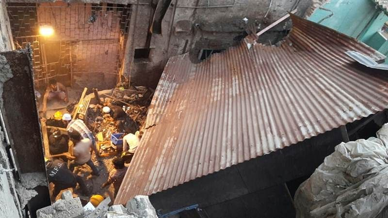 Mumbai: 1 dead as part of a 5-storey building collapses