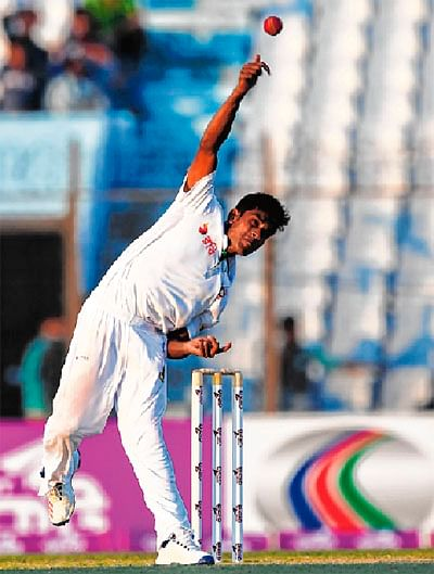 Teenager Mehedi Hasan puts England in a spinner