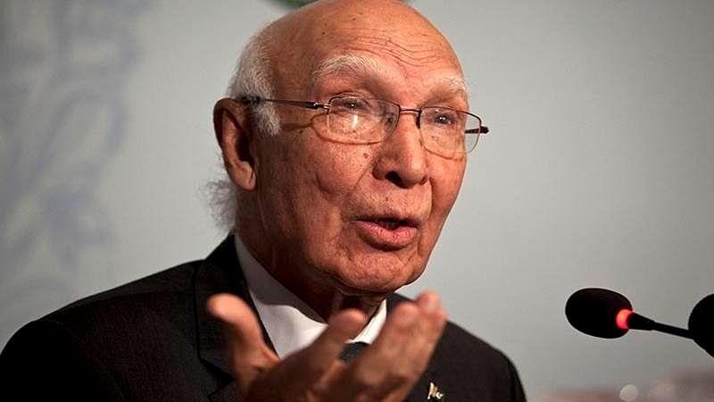 Narendra Modi misleading BRICS, BIMSTEC: Sartaj Aziz