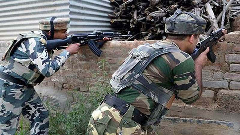 Jammu and Kashmir: Security forces shot down a terrorist in a gunfight in Sopore