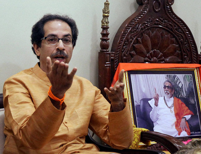 Shiv Sena takes jibe at Modi over Maharashtra minister's remarks