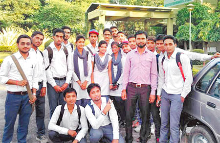 Career students told about pollution, e-waste