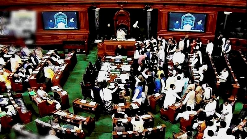 Shiv Sena stages walkout from Lok Sabha over farmer's issue