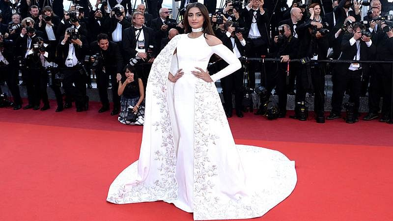 Sonam Kapoor attends the premiere of 'From The Land Of The Moon (Mal De Pierres)' at the annual 69th Cannes Film Festival at Palais des Festivals on May 15, 2016 in Cannes, France.