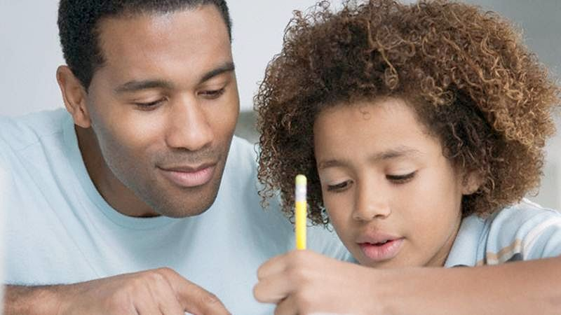 Father's love helps kid to score better grades