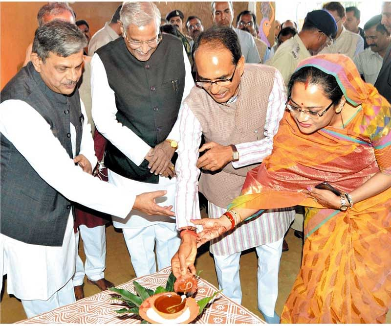 'Lok Manthan' begins today: CM inaugurates expo in Bhopal