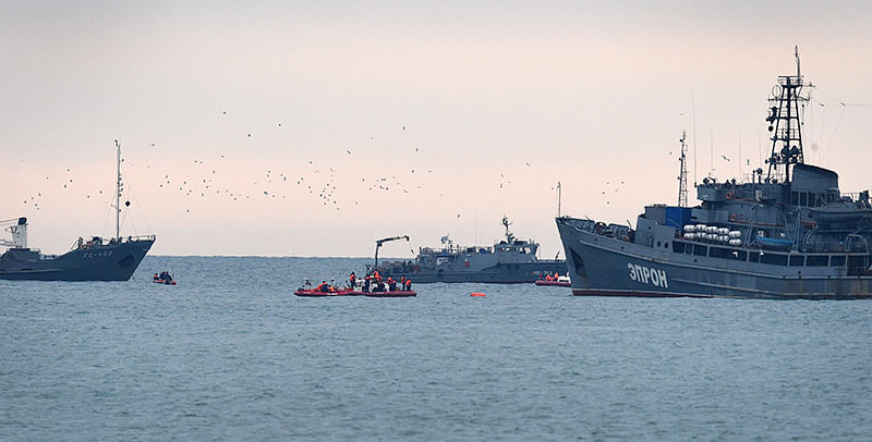 Russian plane's black box recovered from Black Sea