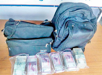 Bhopal: Four including CA, property dealer detained with Rs 14.36 lakh