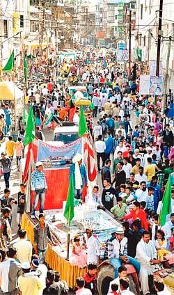 Ujjain: Milad-un-Nabi procession spreads festivity across city