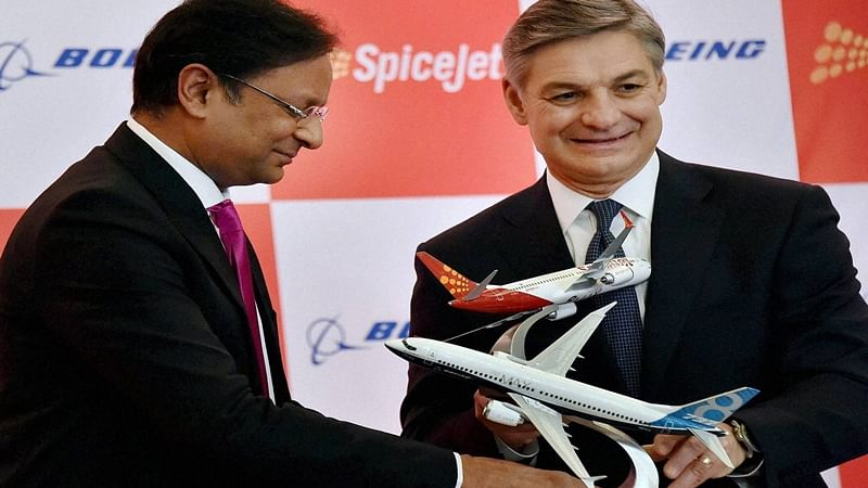 SpiceJet to buy 205 aircraft's from Boeing worth Rs 1.5 crore