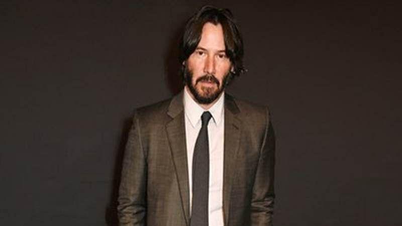 Keanu Reeves has 'Matrix' on his mind