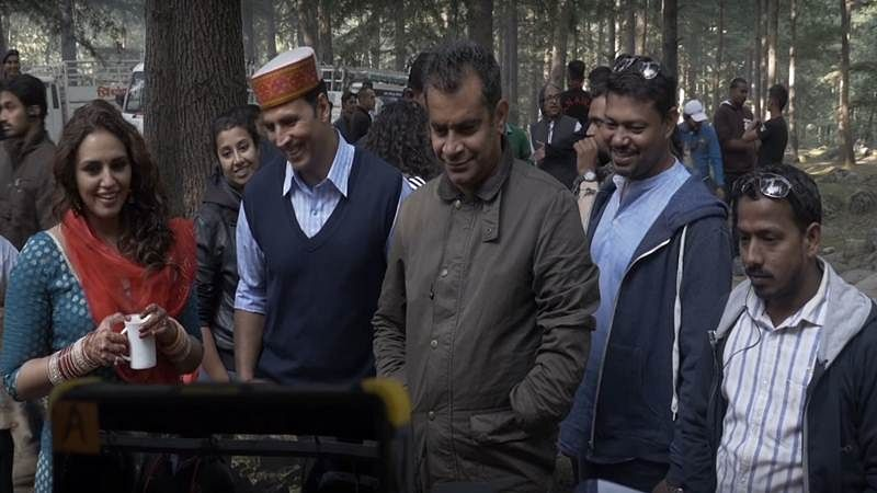 Making video: Unveiling the new character of Jolly LLB2