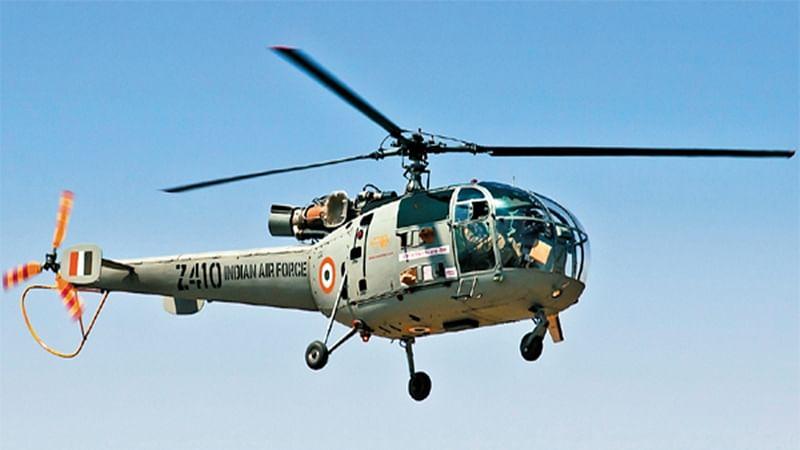 Telangana: Chetak helicopter makes emergency landing after technical snag