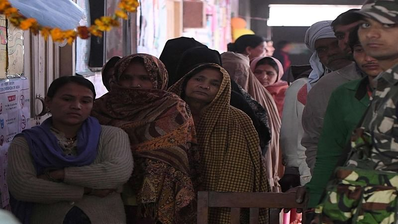 UP Election: 37.85 per cent turnout till 1 PM in Phase 6