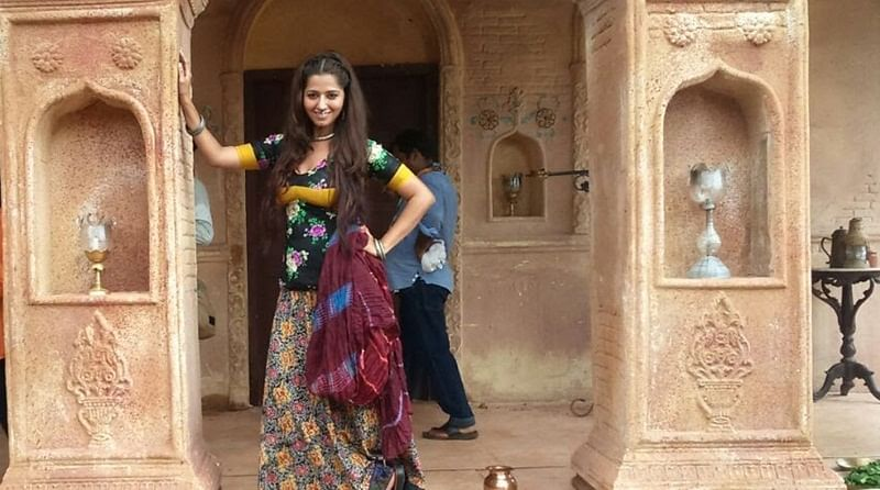 Ridheema Tiwari is on cloud nine as she debuts in Begum Jaan!
