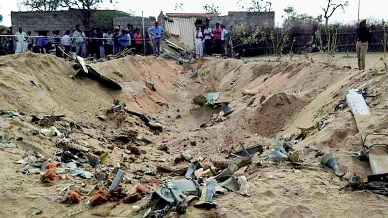 Indian Air Force's Sukhoi-30MKI crashes in Barmer, pilots safe
