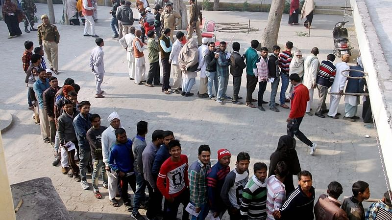 UP Elections 2017: Farmers boycott voting at polling booth in Chunar