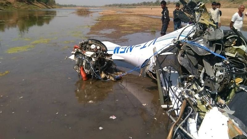 Pilot, trainee from Mumbai killed in crash near Gondia
