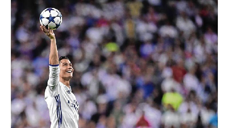 REAL lucky Ronaldo fires 3 to pip Bayern