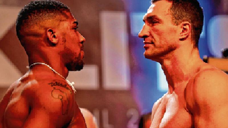 Joshua, Klitschko in heavyweight battle of ages