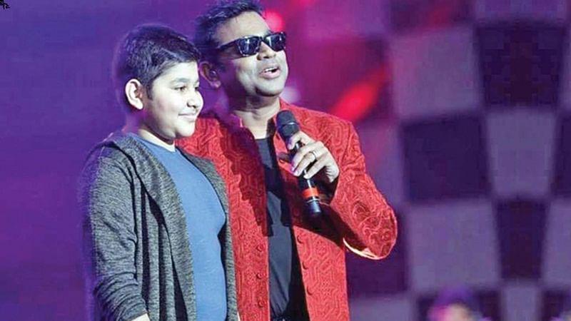 Rahman's son A.R. Ameen makes Hindi singing debut