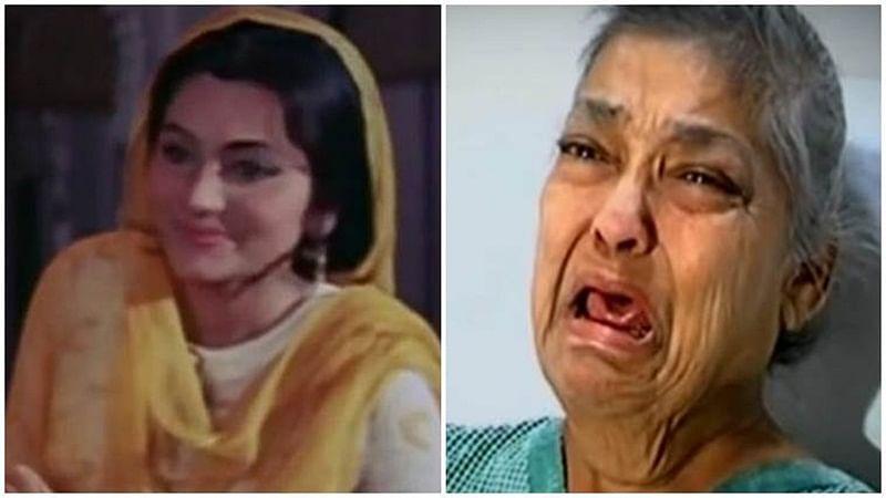 Tragic: Ailing 'Pakeezah' actress Geeta Kapoor abandoned by son at Mumbai hospital