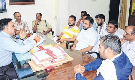 Ujjain: Vikram University campus turns into fortress for NSUI state president visit