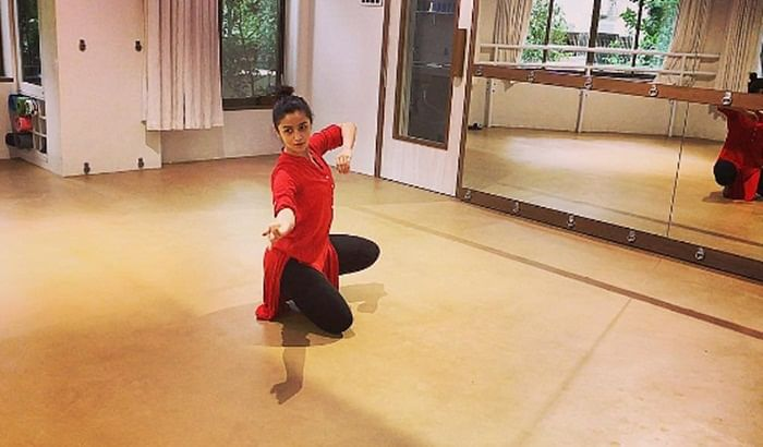 In Pictures: Alia Bhatt does classical dance on a rainy day