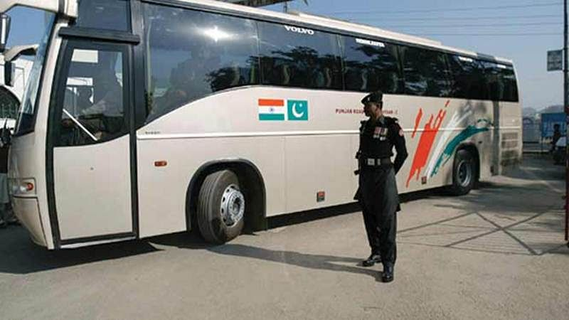 India-Pakistan bus service suspended due to tension on border