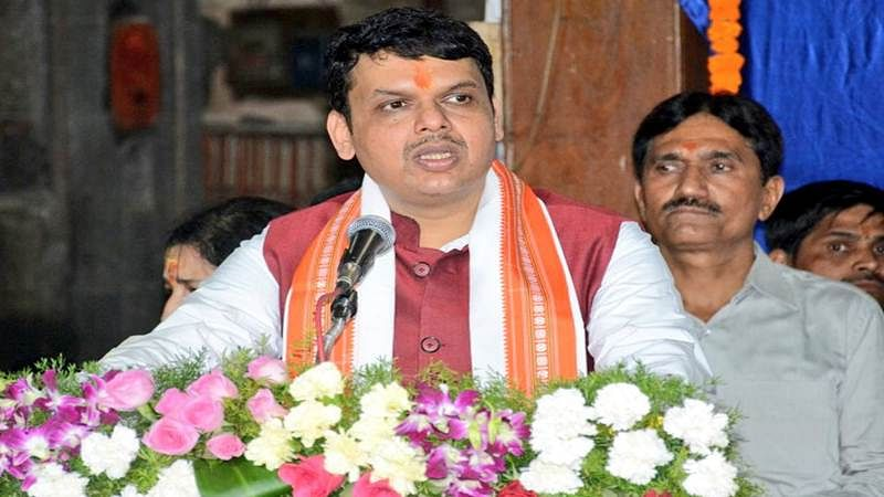 Dukandari tag to media by Chief Minister Devendra Fadnavis