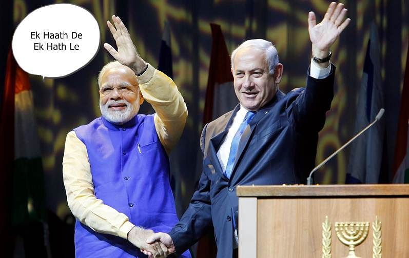 Netanyahu to gift water desalinisation jeep to Modi