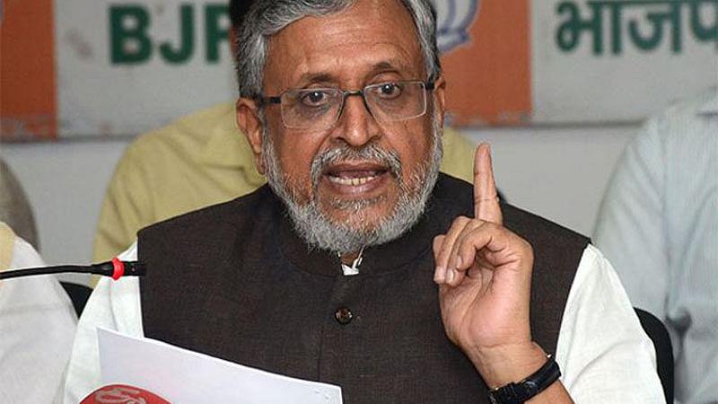 Lalu Prasad Yadav, Congress, rats responsible for Bihar floods: Deputy CM Sushil Modi