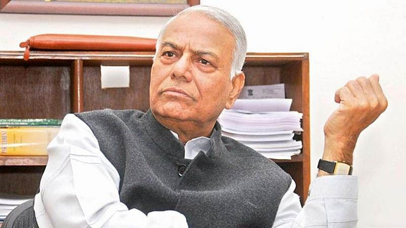 RSS chief Mohan Bhagwat's Ram temple law demand proves its image makeover bid superficial: Yashwant Sinha