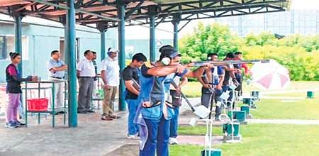 Four shooters strike perfect at National Shotgun Shooting Championship