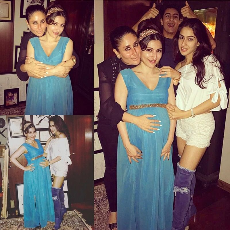 Soha Ali Khan baby shower pictures: Actress looks like a princess