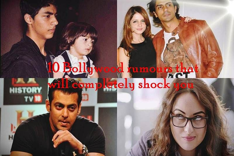 10 Bollywood rumours that will completely shock you
