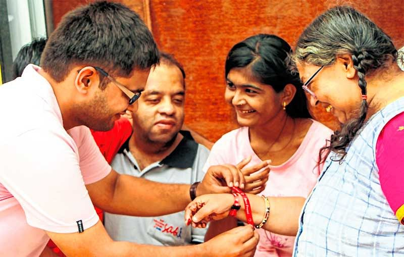 Today is Friendship day – Create Stories brings smile on special children's face