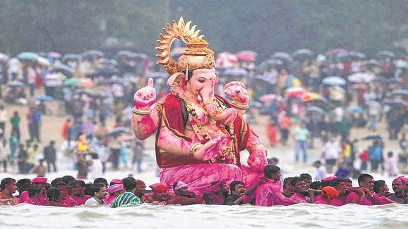 Ganpati Visarjan 2018: 20,543 idols graced Mira-Bhayandar