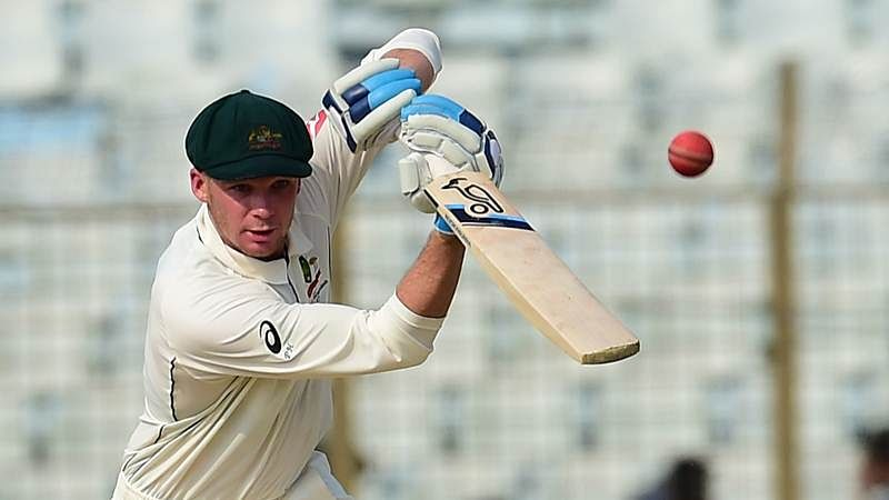 India vs Australia: Peter Handscomb called in as cover for injured Aaron Finch