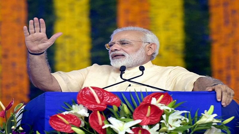 PM Modi foresees a 'New India' by 2022, gets party's support
