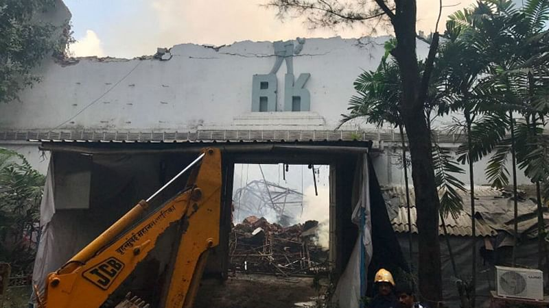 RK Studio Fire: Kapoor brothers to re-build the destroyed stage 1 area