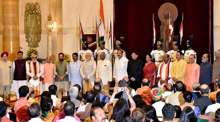 Cabinet reshuffle: Narendra Modi promotes four to cabinet rank, inducts nine new faces