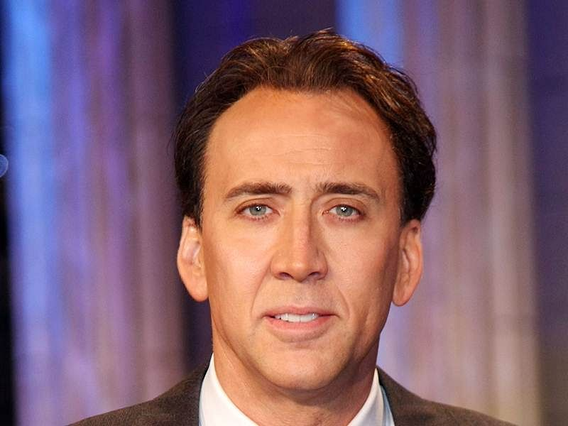 Nicolas Cage doesn't like the word 'acting' anymore
