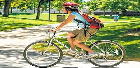Skip the park, pedal at your desk