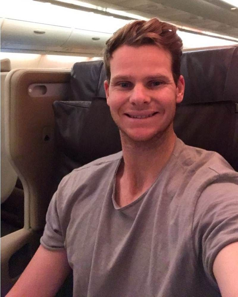 India vs Australia: Injured Steve Smith returns home, thanks India for 'absolute pleasure'