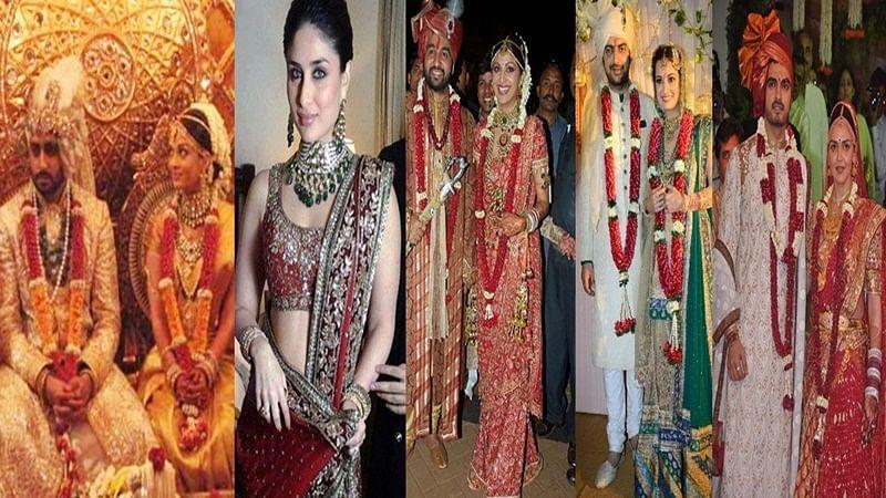 Aishwarya to Kareena: 8 expensive wedding attires worn by Bollywood actresses on their wedding day