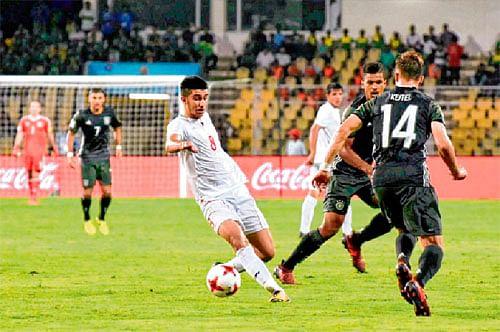 Iran stun Germany 4-0, enter knock-out round
