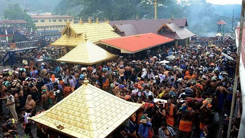 Sabarimala tantri says no relevance of talks with Kerala government; protests continue