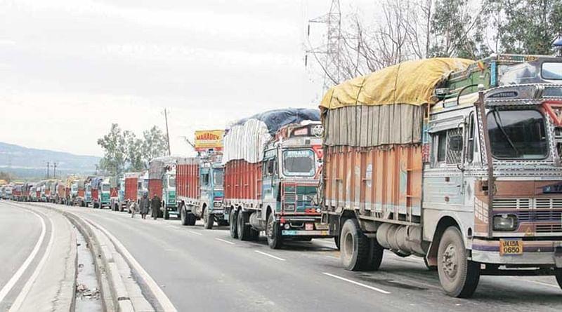 Truckers go on 2-day nationwide strike, demand to include diesel under GST
